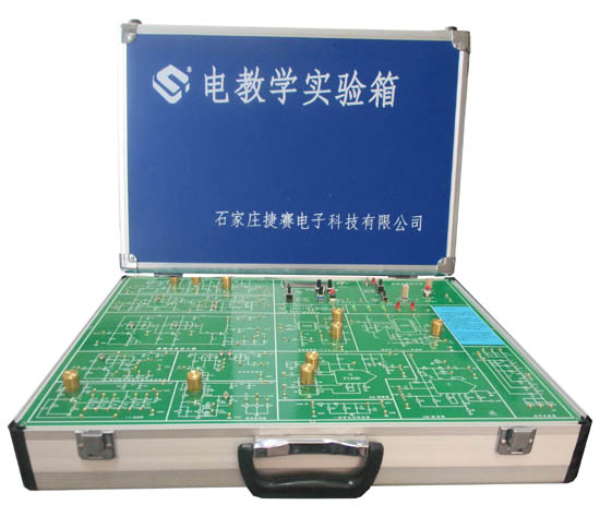 一、技术参数 1、外壳采用全铝合金实训箱 2、设有高性能四路直流稳压电源 5V/1.5A,12V/1A,并带有过流保护功能。 3、低频函数信号发生器 1)波形:正弦波,方波,三角波 2)频率范围:10 HZ~100K,分四档 10Z~100HZ,100HZ~1KHZ,1KHz~10KHZ,10KHZ~100KHZ。 3)幅值:正弦波0-24V(V(P-P)) (24V为峰峰值,且正负对称) 方波0-15V(V(P-P)) (15V为峰峰值,且正负对称) 4、高频函数信号发生器 1)波形:正弦波,方波,三